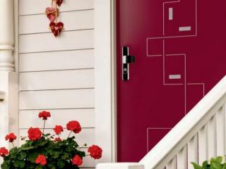Porte blindée Fichet Stylea entrée de maison