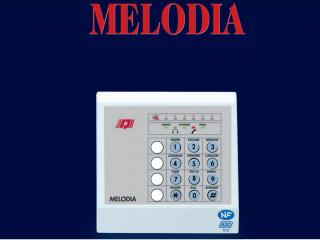 Système d'alarme Melodia