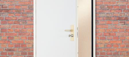 Bloc-porte de cave et porte de communication Fichet