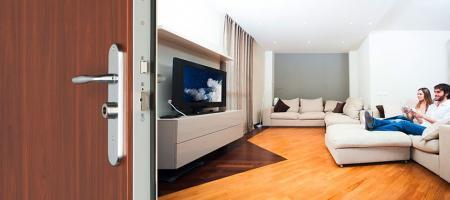 Porte blindée sécurité Fichet pour appartement : Foxeo S