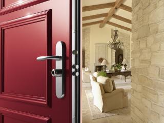 Porte blindée pour maison : modèle Fichet Forstyl HIS