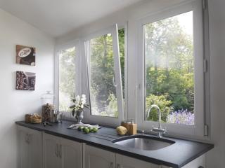 Fenêtres PVC pour une cuisine