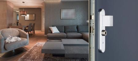 Porte blindée Fichet Protecdoor pour appartement